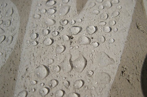 гидрофобный бетон