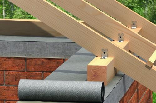 Мауэрлат для крыши: что это такое и как сделать