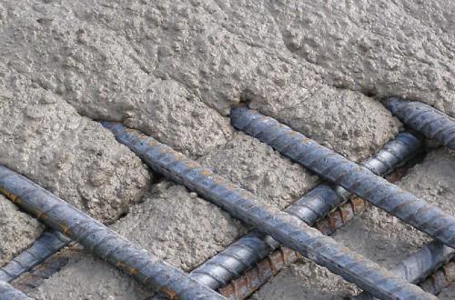 Бетон минус затирка цементным раствором пола