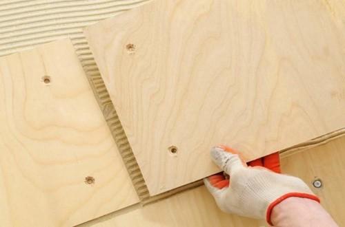 Толщина фанеры на деревянный пол: особенности выбора