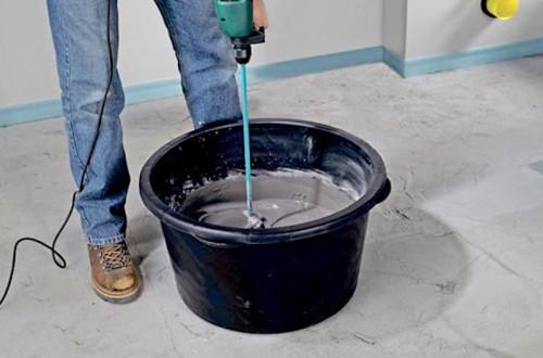 Цементный раствор молочко производство бетона реклама