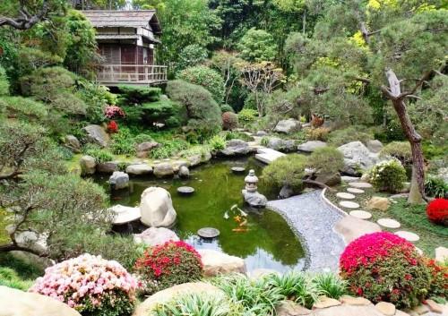 Японский ландшафтный дизайн: концепция и составляющие