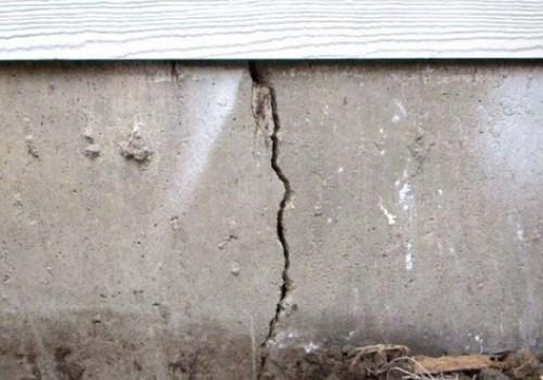 Что делать, если треснул фундамент дома