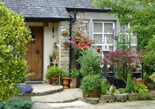 Оформление входной зоны частного дома