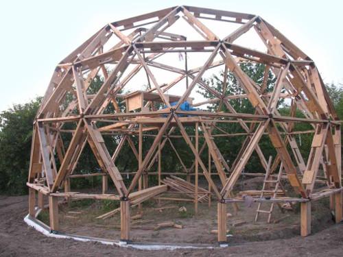 Купольный дом 1