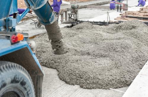 укладка тощего бетона