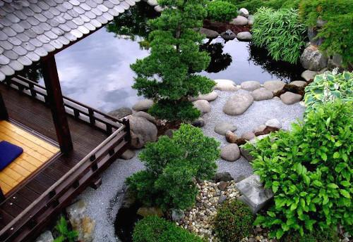 Вода в японском ландшафте