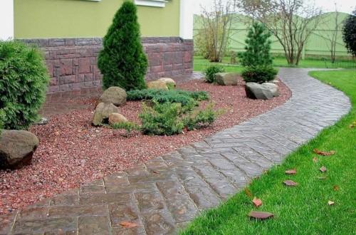 Геотекстиль для садовых дорожек: разновидности и техника укладки