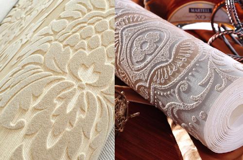 Фетровые обои - материал для ценителей уникальности и комфорта