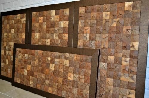 Кокосовая мозаика — натуральный отделочный материал