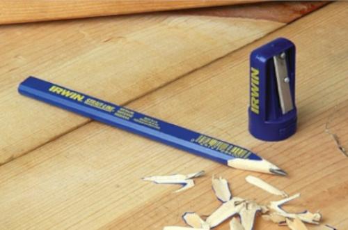 Почему строительный карандаш овальный