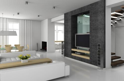 Дизайн интерьера в стиле хай-тек