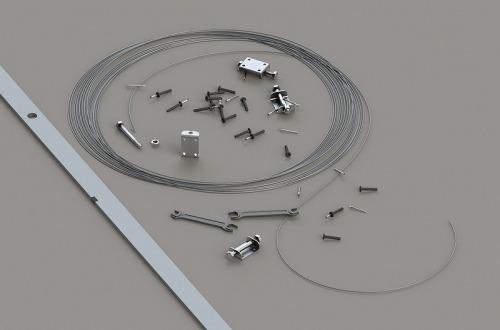 Струнные маяки: область применения и порядок установки