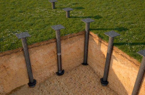 Винтовые сваи: преимущества, разновидности, установка и цена